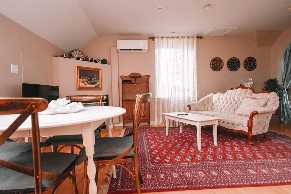 Luxusní apartmá, více lůžek - Obývací prostor