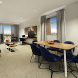 Three Bedroom with Balcony  - Living Area