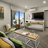 Executive One Bedroom Apartment - Living Room