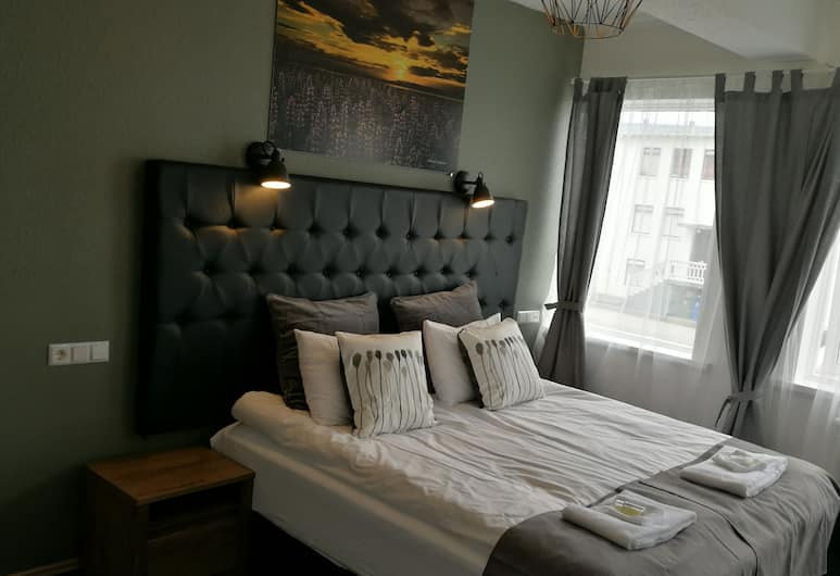 Brim hotel, Reykjavik, Deluxe Double Room, 1 Double Bed with Sofa bed, Guest Room