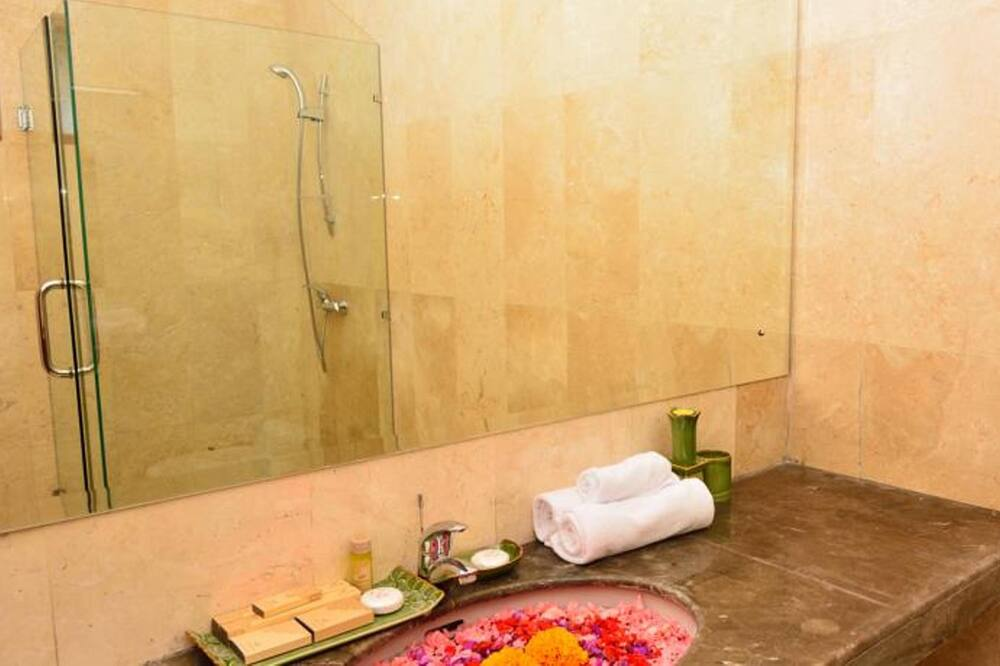 Deluxe Double or Twin Room, Kitchenette - Bathroom