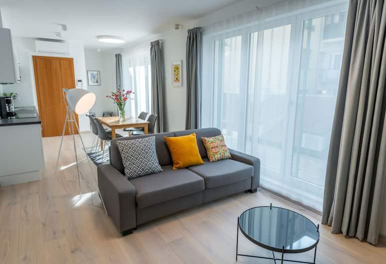 Harrachovsky Palace, Prague, Deluxe Suite, 2 Bedrooms, Terrace, Room