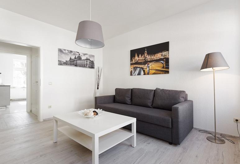 City Park Apartments Ludi, Lipcse, apartman (8), Nappali