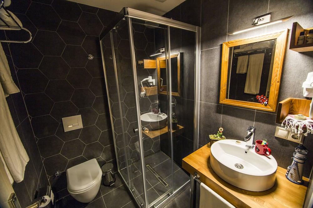 Comfort-Doppelzimmer, 1 Schlafzimmer, eigenes Bad - Badezimmer