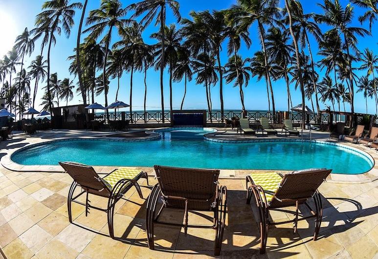 ジーナス ビーチ ホテル, Paraipaba, 屋外プール