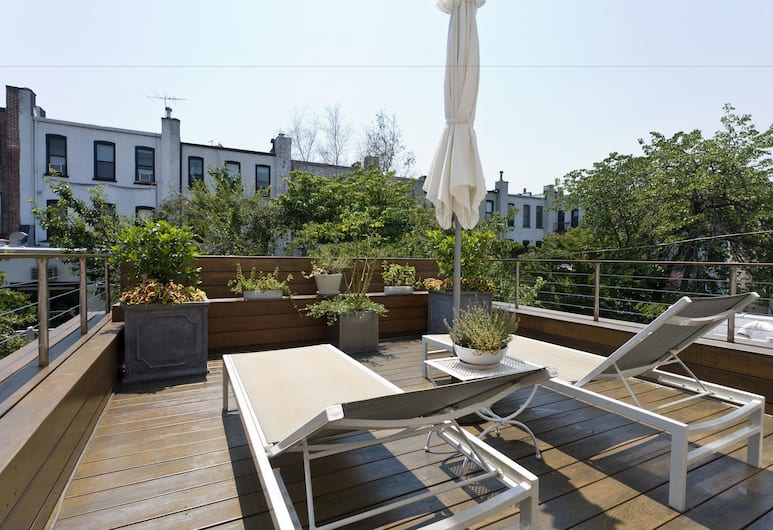 onefinestay - Park Slope private homes, Brooklyn, Apartman, 4 spavaće sobe (1st Street), Terasa/trijem