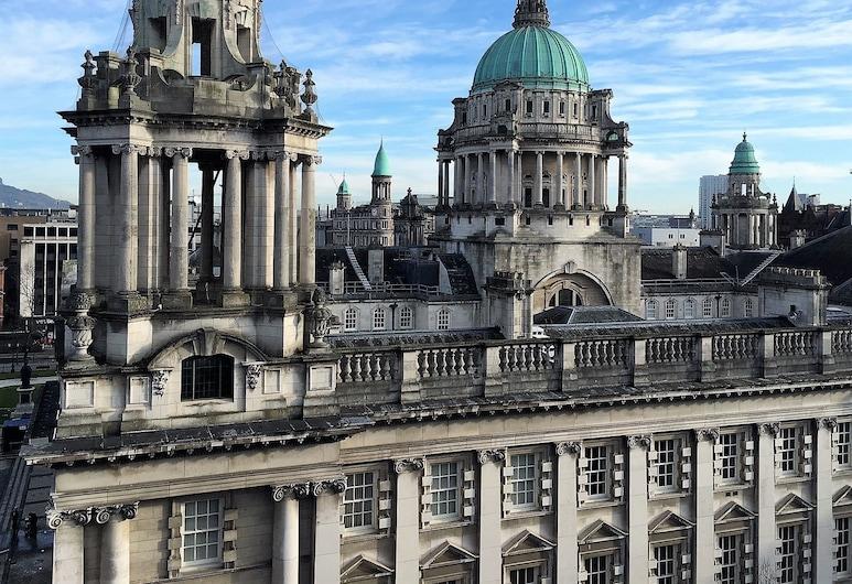 Ten Square Hotel, Belfast, Luxusný ateliérový apartmán, výhľad na mesto, rohová izba, Hosťovská izba