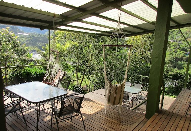 La Casa Verde, Baños de Agua Santa, Terrace/Patio