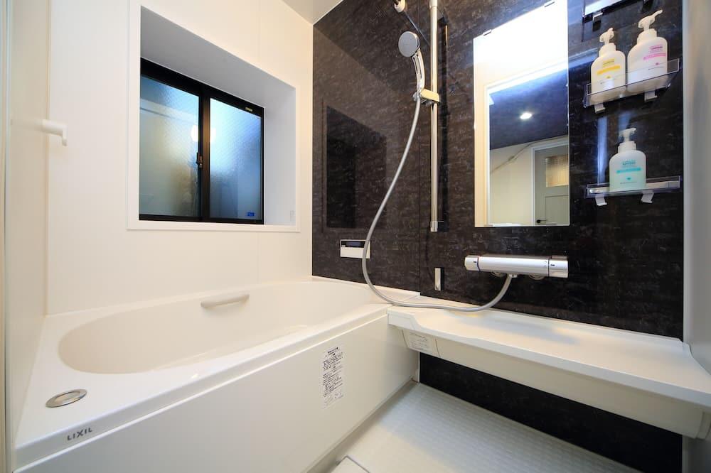 Traditional-Haus, 2Schlafzimmer - Badezimmer