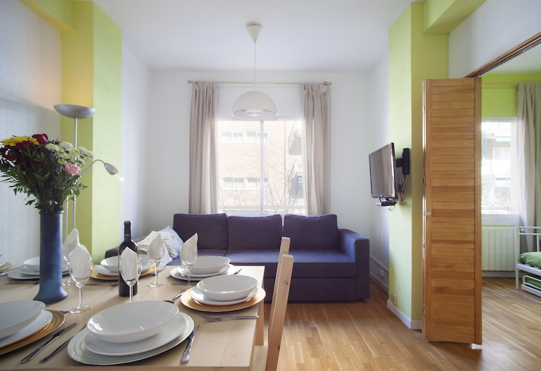 GO BCN Apartments Sicilia, Barcelona, Apartemen Standar, 3 kamar tidur, Area Keluarga