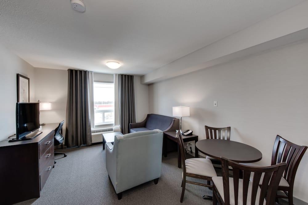 Suite, 1 très grand lit, non-fumeurs (One-Bedroom) - Coin séjour