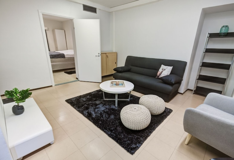 آبارتمنتس سودانكيلا, سودانكيلا, One-Bedroom Apartment - 4 -, غرفة معيشة