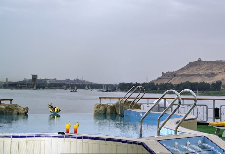 MS Sonesta Star Goddess,Luxor-Aswan 4 Night Cruise Mon-Fri, Luxor, Infinity Pool