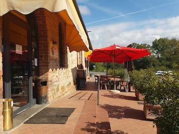 Castelnuovo Berardenga bölgesindeki Oasi del grillo resmi