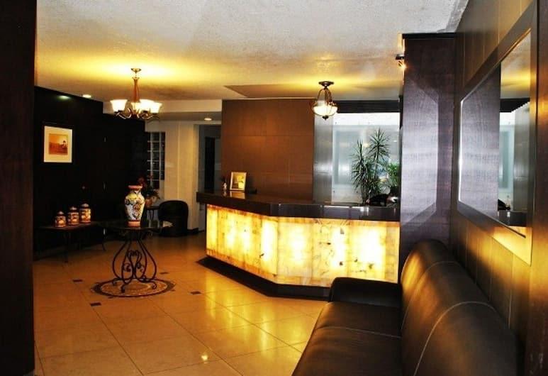Hotel Marcella Clase Ejecutiva, Morelia, Resepsiyon