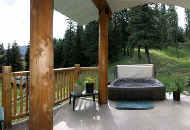 York Creek Bed and Breakfast, Coleman, Balcony