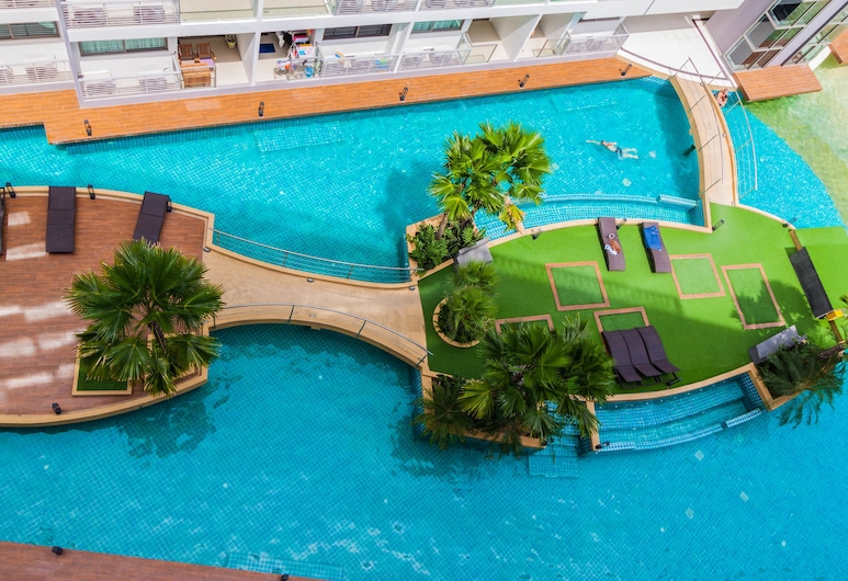 Laguna Beach Resort 1 by Pattaya Sunny Rentals, פטיה