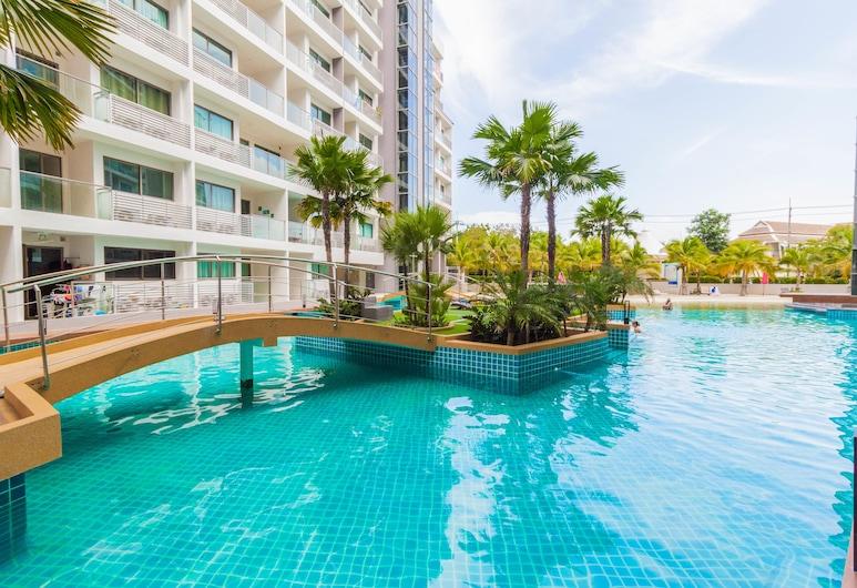 Laguna Beach Resort 1 by Pattaya Sunny Rentals, Pattaya, Vonkajší bazén