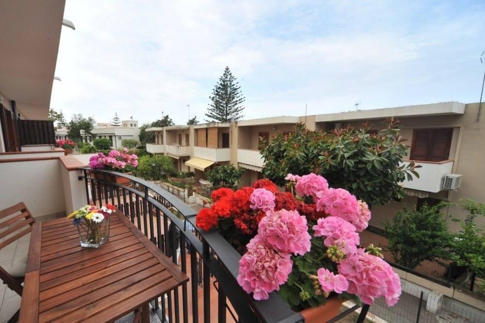 Apartamentai, 2 miegamieji (Rodia Residence 3A) - Balkonas