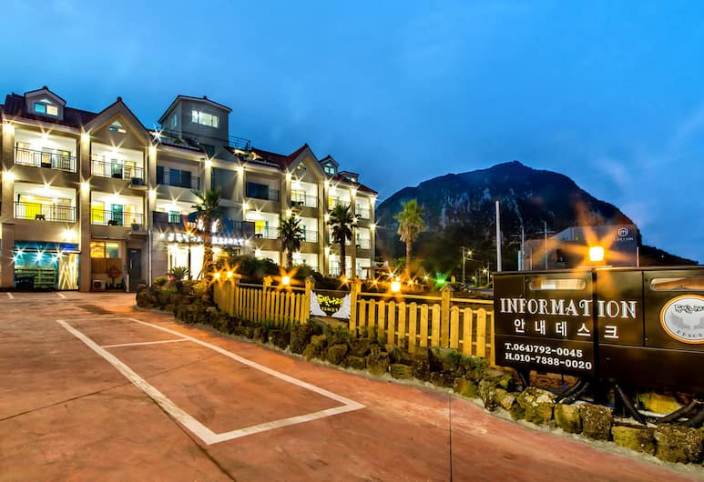 Du Bitnarae, Seogwipo, Hotel Front