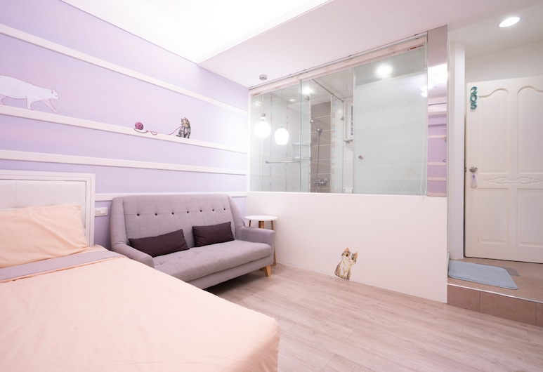 Night13, Cao Hùng, Phòng đôi Deluxe, 1 giường đôi, Phòng