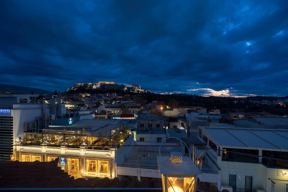 Suíte júnior (Panoramic Acropolis View) - Quarto