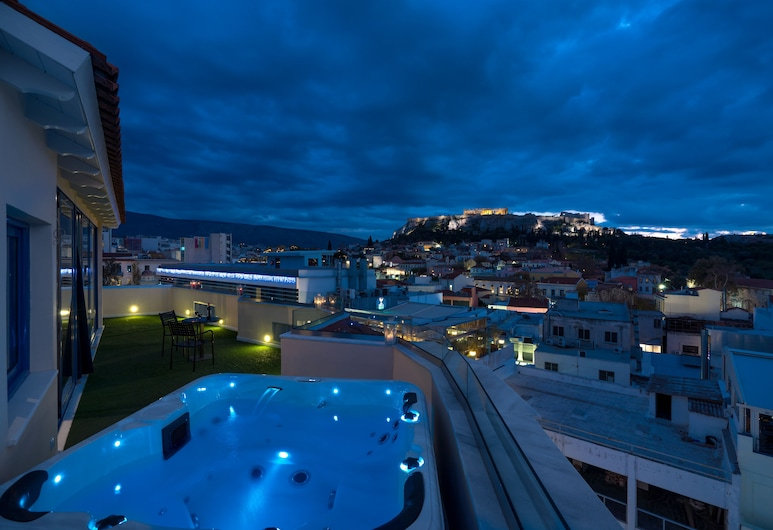 Lotus Inn, Athens, Junior Suite (Panoramic Acropolis View), Guest Room