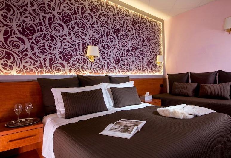即興多莫斯酒店, 羅馬, 豪華雙人或雙床房, 客房