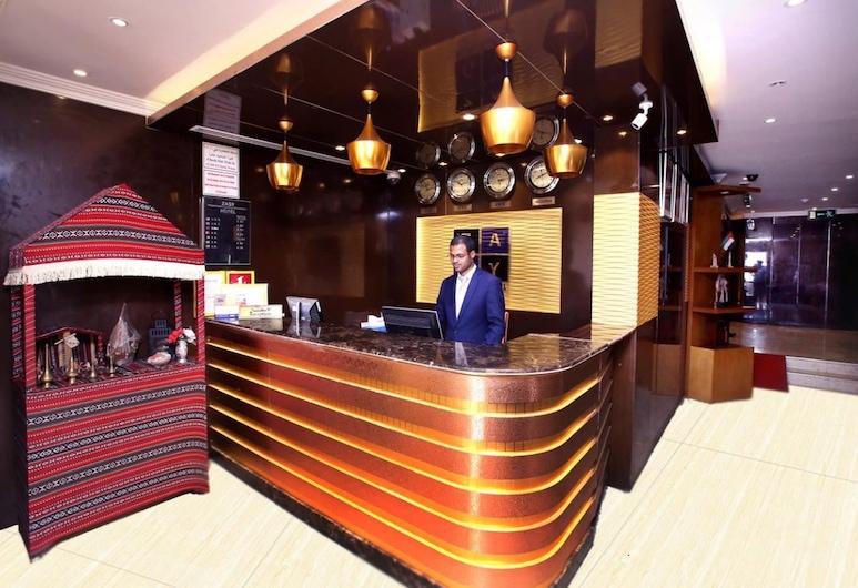 Zagy Hotel, Dubajus, Registratūra