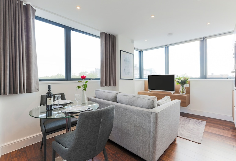 Swiss Cottage One, London, Standard Apartment, 1 Bedroom, Living Area