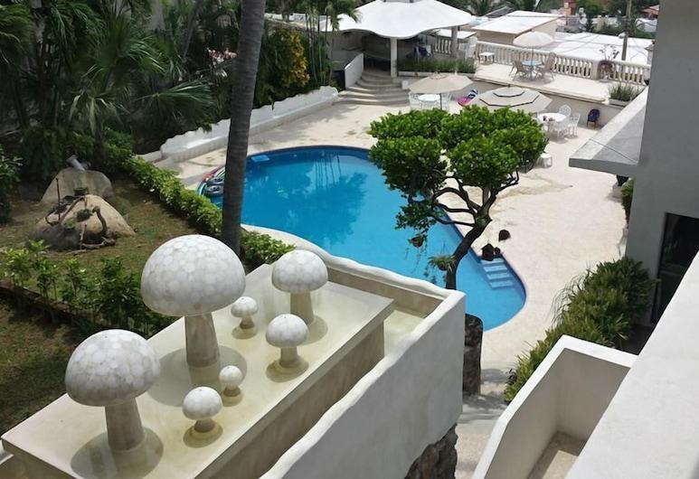 Villas Luna Marina, Акапулько, Пентхаус, 2 спальни, Вид из номера