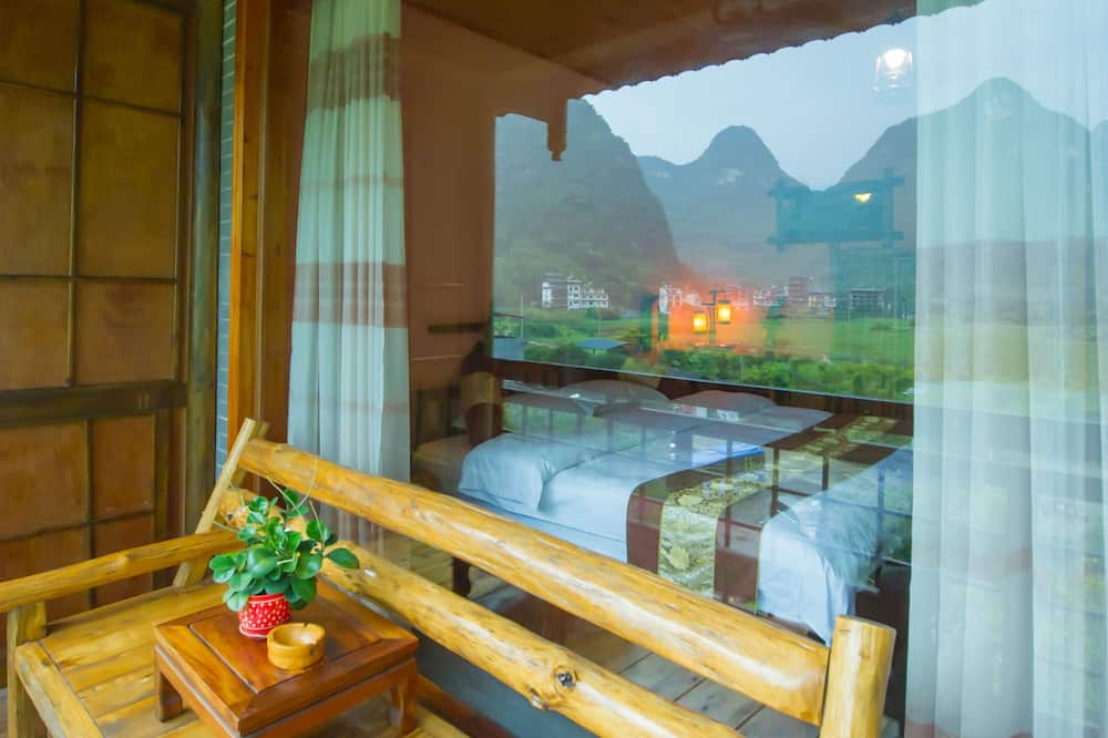 Deluxe Balcony King Room With Ricepaddy View - Balcony
