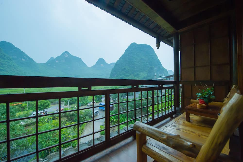 Balcony King Room With Ricepaddy View - Balcony