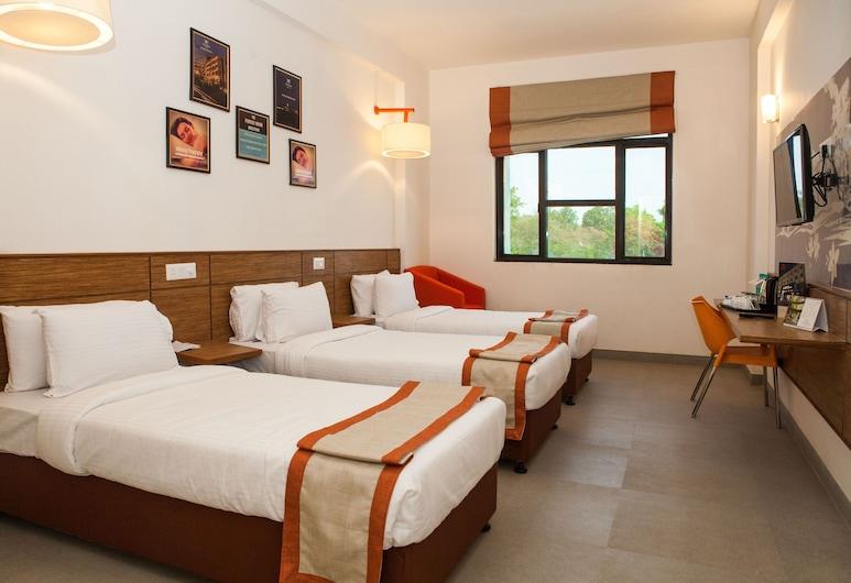 Hotel Polo Max Allahabad, Allahabad, Herbergi með tvíbreiðu rúmi, Stofa