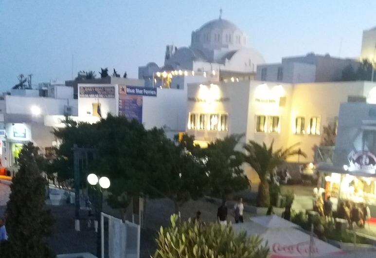 普拉提亞酒店, 聖托里尼, 露台