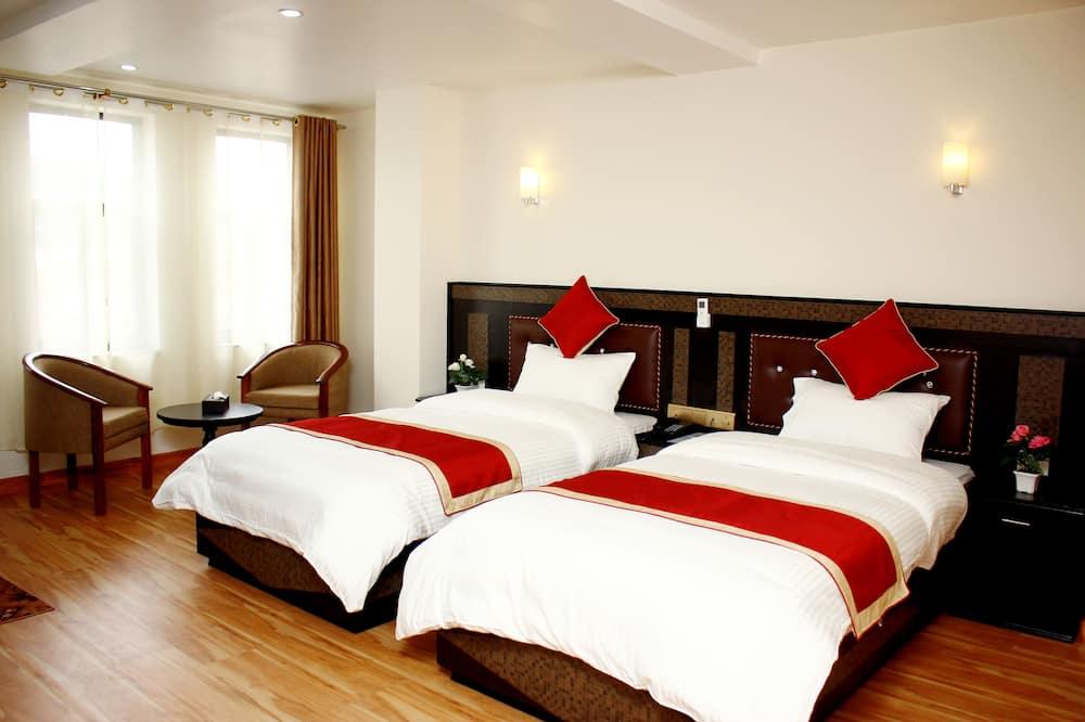 Deluxe Double or Twin Room, 2 Bedrooms, Mountain View - Bilik Rehat