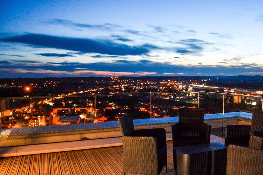 Penthouse Luxe, 1 chambre, terrasse, vue ville - Photo principale