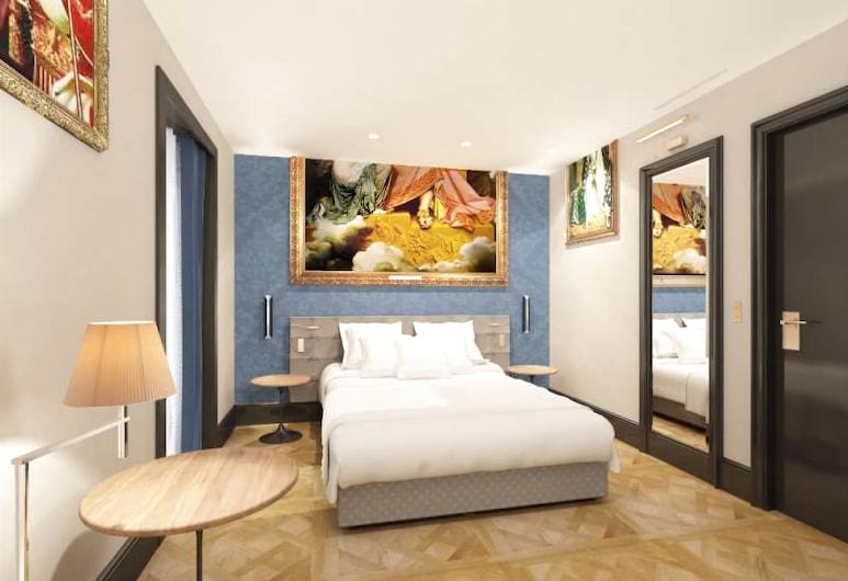 호텔 에펠 프티 루브, 파리, 쿼드룸, 객실