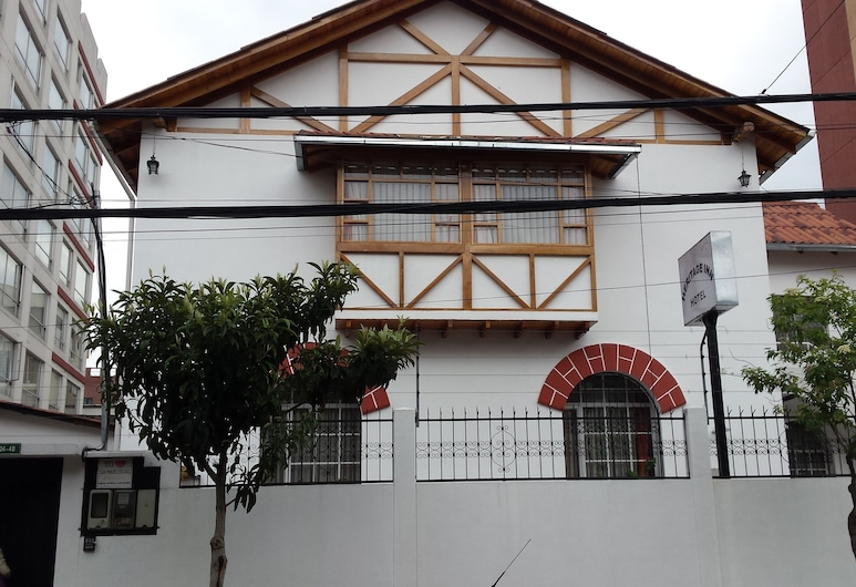 Heritage Inn, Quito, Hotel Front