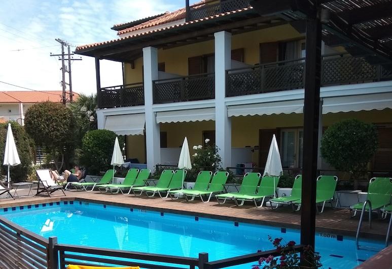 Ammon Garden Hotel, Kassandra, Basen