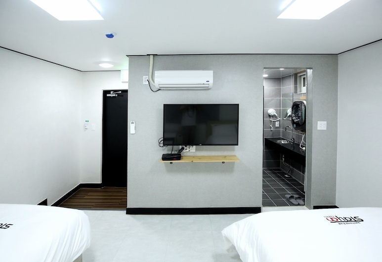 Stayan - Hostel, Busan, Superior Twin kamer, Kamer