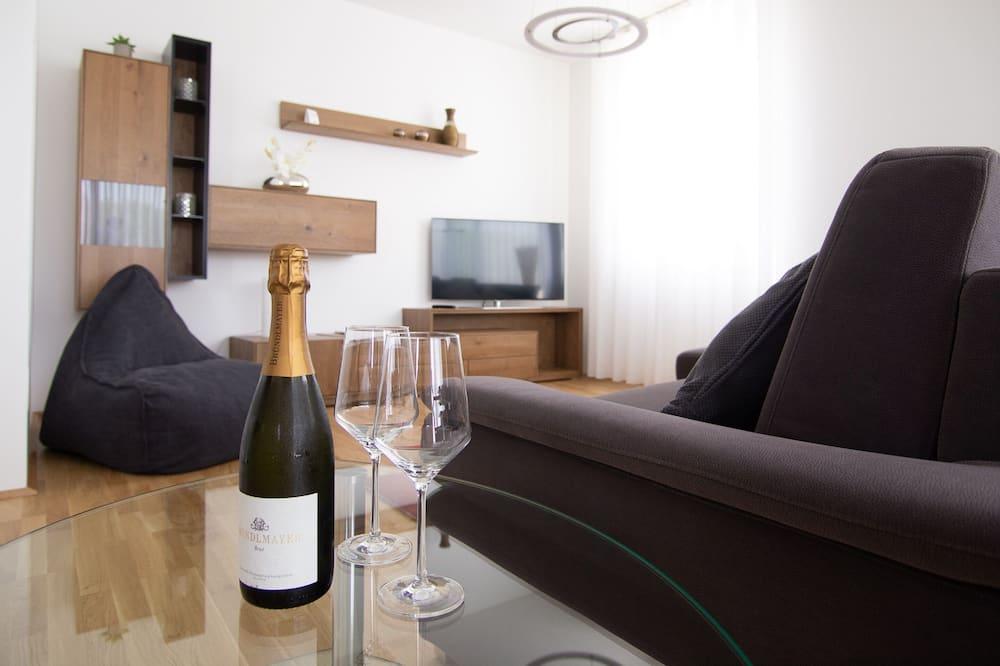 Departamento exclusivo, 2 habitaciones, para no fumadores, cocina - Sala de estar