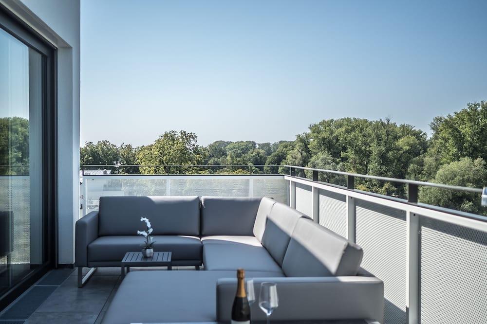 Departamento exclusivo, 2 habitaciones, para no fumadores, cocina - Balcón