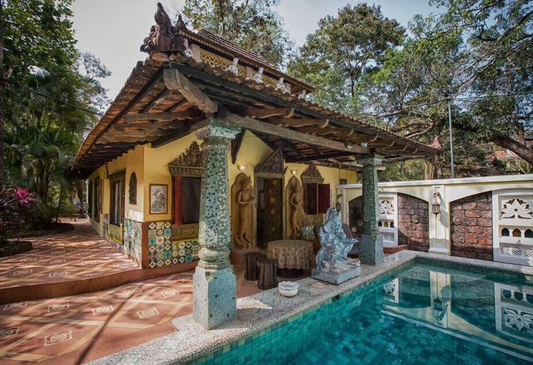 Ishavilas Goa, Siolim, Piscina al aire libre