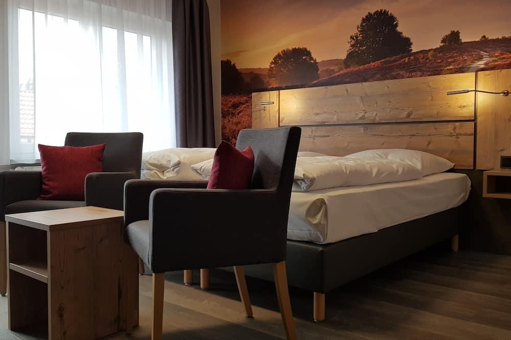 Tweepersoonskamer, en-suite badkamer - Kamer
