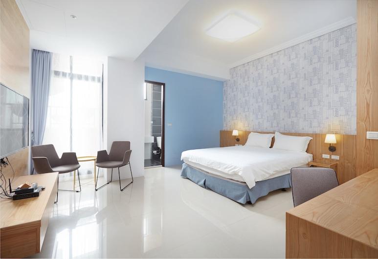 Anping Guesthouse, Đài Nam, Phòng đôi Deluxe, Ban công, Phòng