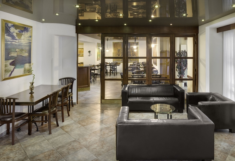 Hotel OTAR, Praha, Poilsio zona vestibiulyje