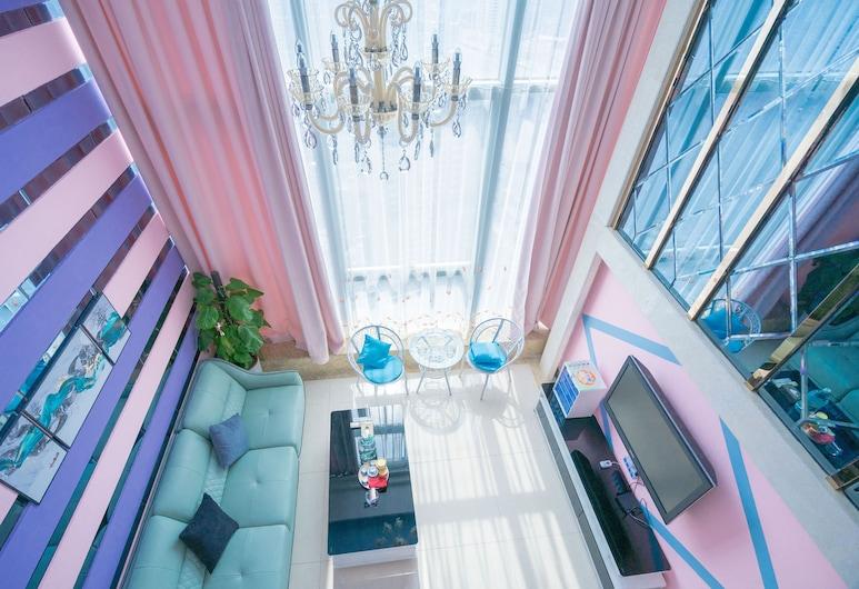 Hakka International Apartment Beijing Rd, Guangzhou, Deluxe Twin Room, Room