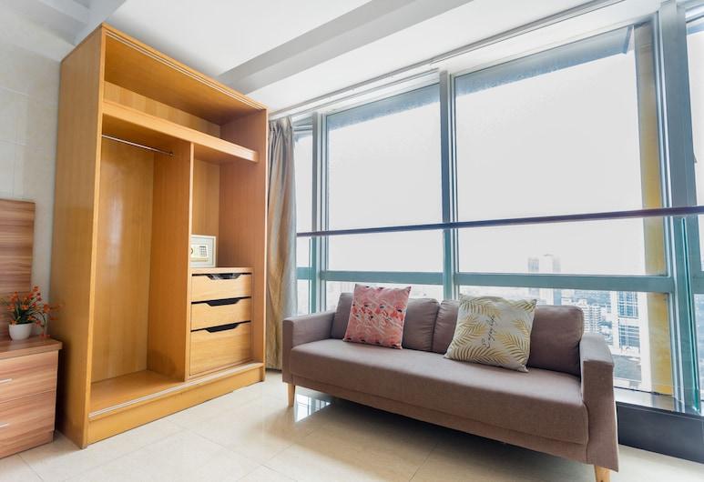 Sunny Apartment (Guangzhou Beijing Road Jinyuan), Guangzhou, Deluxe Room, 1 Katil Raja (King), Bilik Tamu
