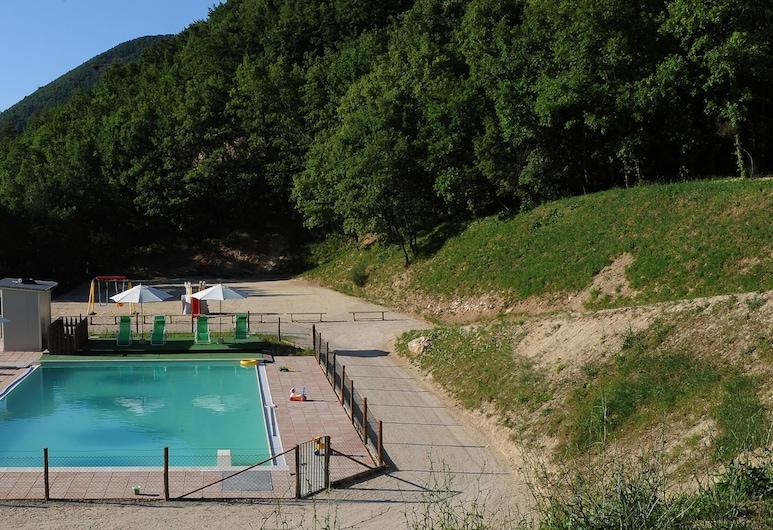 Vista del Mondo, Spoleto, Hồ bơi ngoài trời